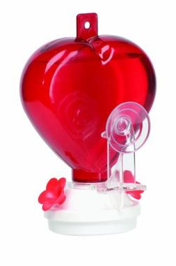 Cherry Valley Feeder 12-Ounce Plastic Heart Hummingbird Feed
