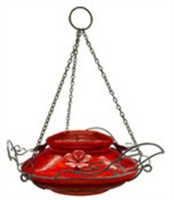 RED Crackle Humm Feeder,No MHF4,  Nature'S Way Bird Products