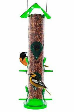 Seed Tube Wild Bird Feeder Attract More Birds Perfect for Ga
