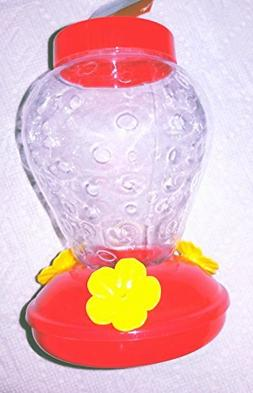 Strawberry Hummingbird Feeder by Garden Collection
