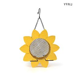 Liffy Sunflower <font><b>Metal</b></font> Mesh Bird <font><b