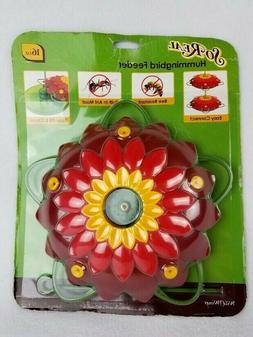 Wild Wings WW3DHF3 So Real 3D Flower Hummingbird Feeder, Red